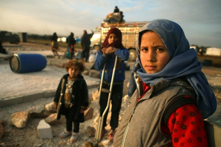 Syria's war is considered to have caused the biggest wave of displacement since Word War II (AFP Photo/AAREF WATAD)