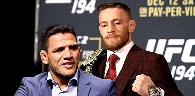 Rafael dos Anjos Doesn't Want Conor McGregor, He Wants His Belt Back