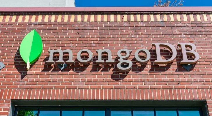 A close-up view of the MongoDB (MDB) office in Silicon Valley.