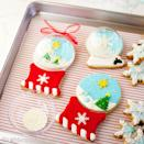 """<p>Let it snow, let it snow, let it snow! These sugar cookies are adorable without the cover, but can easily be added with plastic ornament halves and white nonpareils.</p><p><strong>Get the recipe at <a href=""""http://www.sweetstoimpress.com/2014/12/shaking-it-up-with-snow-globe-decorated-sugar-cookies/"""" rel=""""nofollow noopener"""" target=""""_blank"""" data-ylk=""""slk:Sweets to Impress"""" class=""""link rapid-noclick-resp"""">Sweets to Impress</a>.</strong></p><p><a class=""""link rapid-noclick-resp"""" href=""""https://www.amazon.com/dp/B07QH5QVCW/?tag=syn-yahoo-20&ascsubtag=%5Bartid%7C10050.g.647%5Bsrc%7Cyahoo-us"""" rel=""""nofollow noopener"""" target=""""_blank"""" data-ylk=""""slk:SHOP PLASTIC FILLABLE ORNAMENTS"""">SHOP PLASTIC FILLABLE ORNAMENTS</a></p>"""