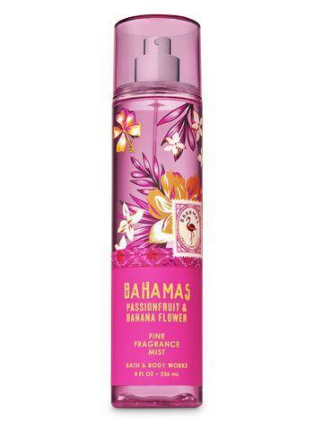 """<p>This fragrance mist is a cocktail of fruity and floral — with top notes of passionfruit and freesia petals — that smells like walking through a botanical garden.</p> <br> <br> <strong>Bath & Body Works</strong> Pink Passionfruit & Banana Flower Fine Fragrance Mist, $14.5, available at <a href=""""https://www.bathandbodyworks.com/p/pink-passionfruit-andamp-banana-flower-fine-fragrance-mist-023993660.html?cgid=body-care-promotion#start=3"""" rel=""""nofollow noopener"""" target=""""_blank"""" data-ylk=""""slk:Bath & Body Works"""" class=""""link rapid-noclick-resp"""">Bath & Body Works</a>"""