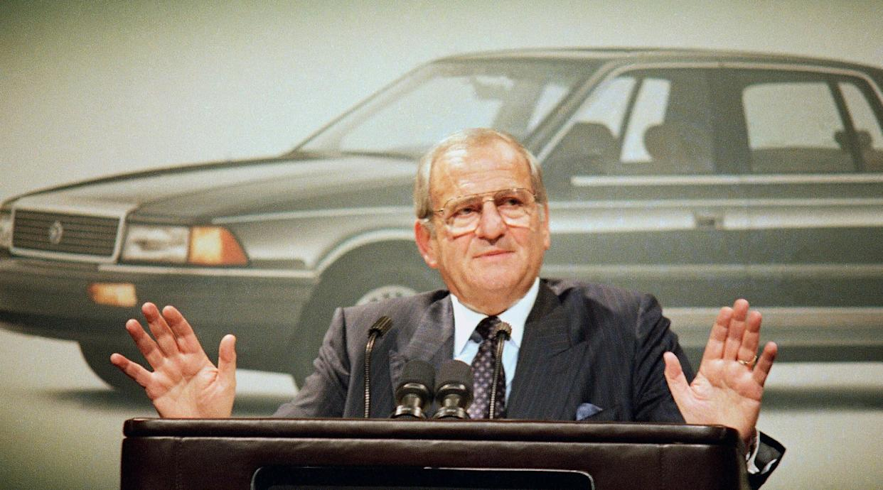 Lee Iacocca, who served as the president of Ford Motor Company and later became CEO of Chrysler, died on July 2, 2019. He was 94.