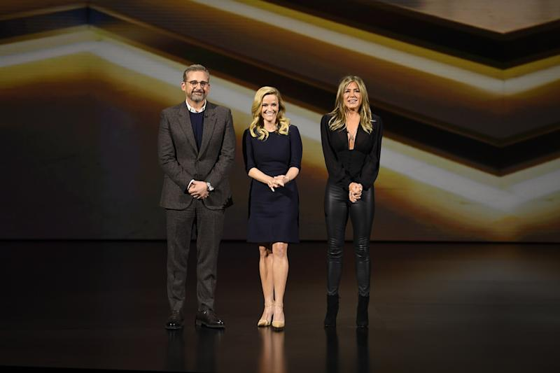 Steve Carell, Reese Witherspoon, and Jennifer Aniston