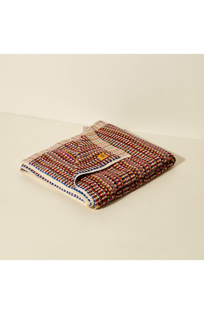 <p>Add some gorgeousness to your bathroom with this <span>Goodee Organic Cotton Hammam Bath Towel</span> ($100).</p>