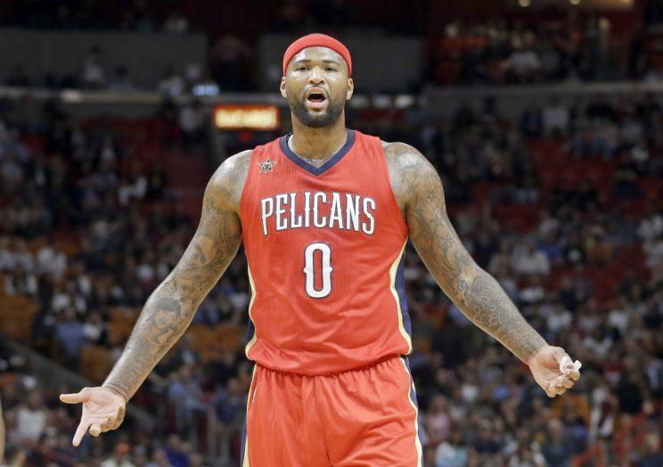DeMarcus Cousins will be a free agent after next season. (AP)