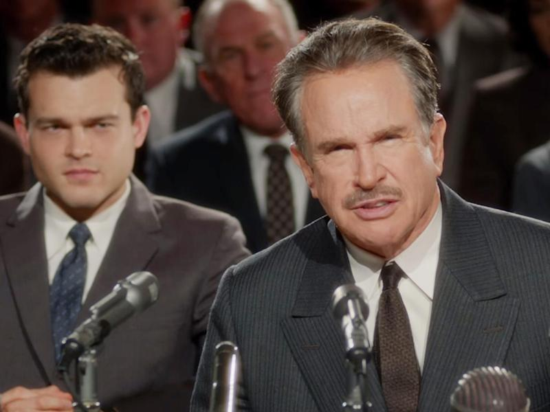 Warren Beatty as Howard Hughes in 'Rules Don't Apply'. Watching the film, you can't help but think it is as much about Beatty himself as it is about the reclusive billionaire