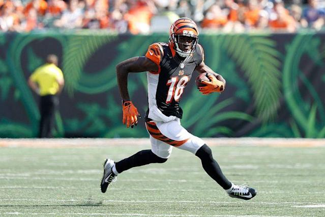 A.J. Green in action. (Getty)