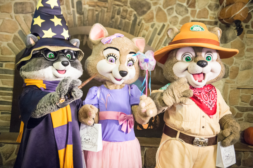 """<p>Take a break between cannonballs or floating down <a rel=""""nofollow"""" href=""""https://www.greatwolf.com"""">the waterpark's</a> lazy rivers for the family friendly's spooktacular attractions found at all 14 of its locations. Kids are gifted a pair of wolf ears upon arrival and welcomed into the waterpark's wolf pack, which includes familiar faces like Violet, Wiley and Oliver. Be sure to pack your costume and join other guests at the Monster Bash Dance Party (held every night)! Those looking for some candy pre-Oct 31 can trick-or-treat around the park and collect sweets on the Trick-or-Treat Trail.  </p><p>Tickets included with admission to park with promo code: HOWL, starting at $199.99 per night. Runs Oct. 1 to Oct. 31.<br></p>"""