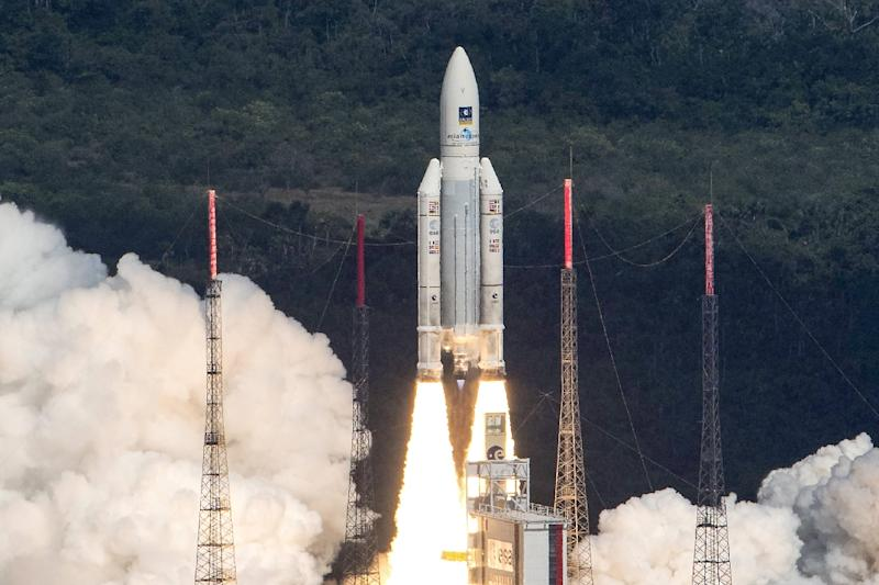 An Ariane 5 rocket with a payload of four Galileo satellites was successfully launched from French Guiana in November 2016