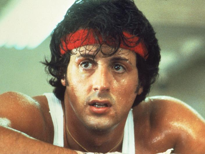 Sylvester Stallone in 'Rocky'Rex Features