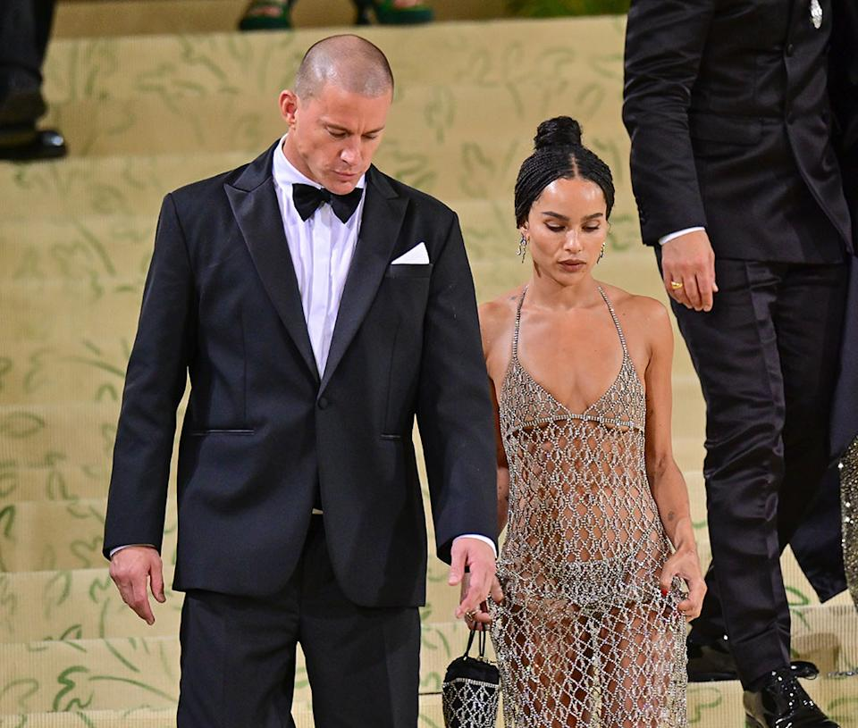 Channing Tatum and Zoe Kravitz leave the 2021 Met Gala together in New York City