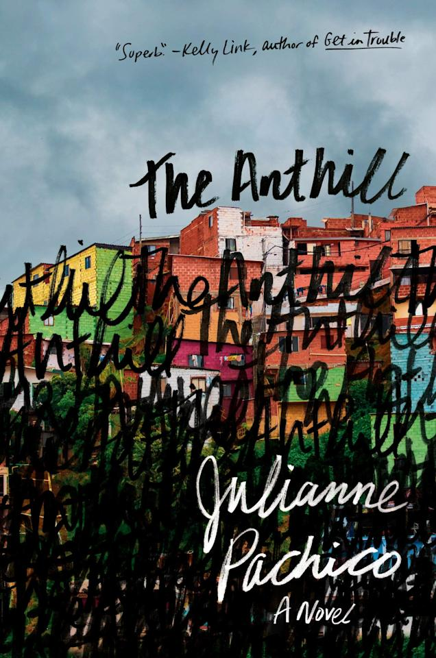 "<p>Old wounds reopen when Lina returns to her childhood home of Medellin looking for answers about her past in Julianne Pachico's <product href=""https://www.amazon.com/Anthill-Novel-Julianne-Pachico/dp/0385545894/"" target=""_blank"" class=""ga-track"" data-ga-category=""internal click"" data-ga-label=""https://www.amazon.com/Anthill-Novel-Julianne-Pachico/dp/0385545894/"" data-ga-action=""body text link""><strong>The Anthill</strong></product>. After being sent away to live in England after her mother's death 20 years prior, Lina returns to find both her friend Matty and her old home unrecognizable. Matty now runs a daycare for children who live on the street, and he has no interest in discussing their shared childhood. However, Lina's arrival sparks a flurry of disturbing events that neither of them can ignore.</p>"