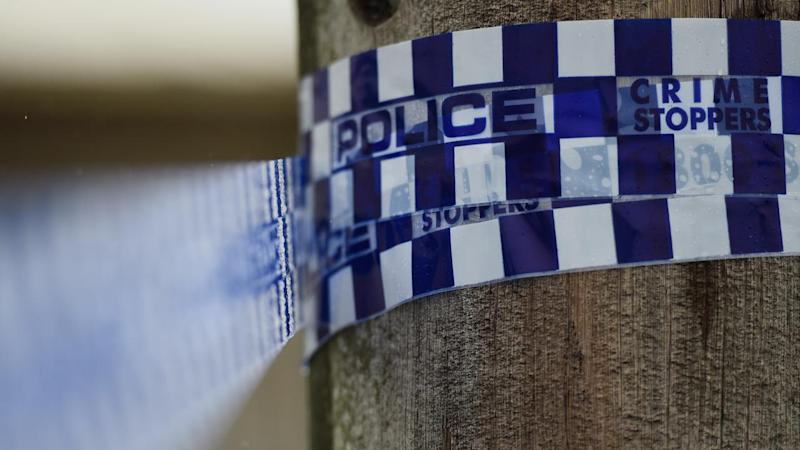 The body of a man, believed to be a missing farmer, has been found in a dam in Victoria.