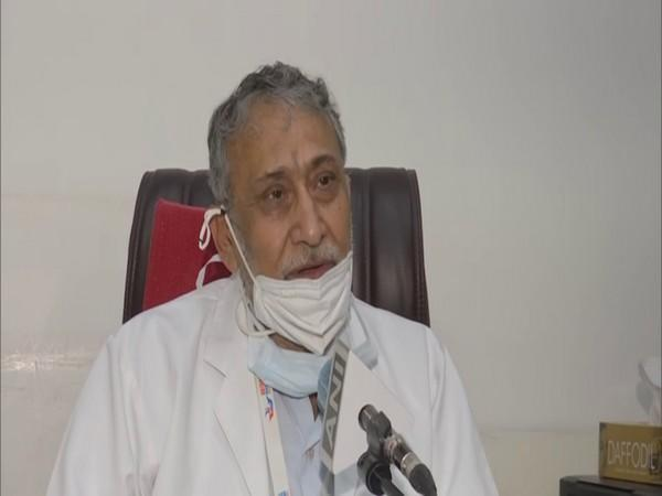 Dr SCL Gupta, Medical Director of Batra Hospital speaking to ANI