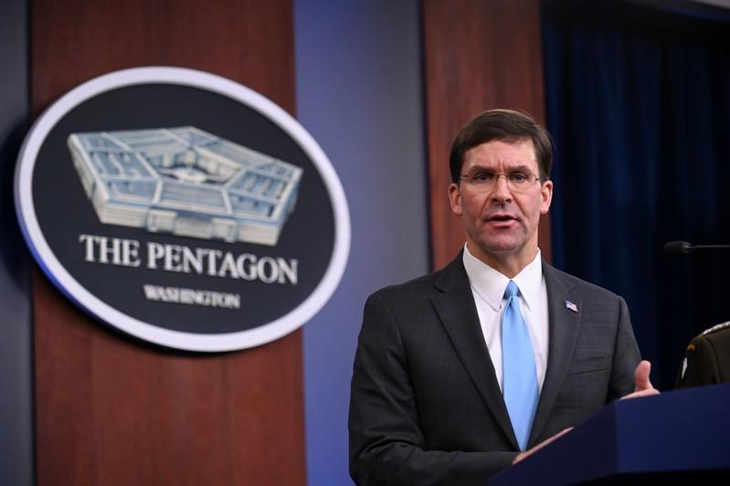 All U.S. troops withdrawing from Syria expected to go to western Iraq: Pentagon chief