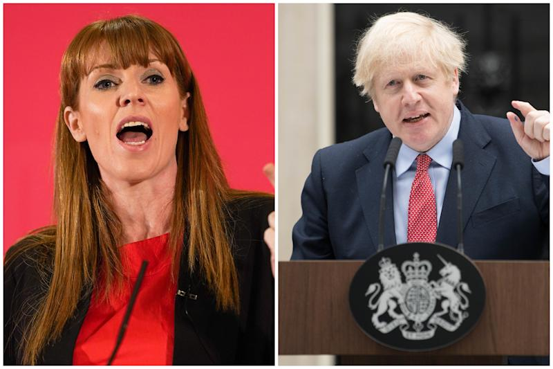 Angela Rayner has criticised Boris Johnson following his return to work on Monday. (Getty Images)