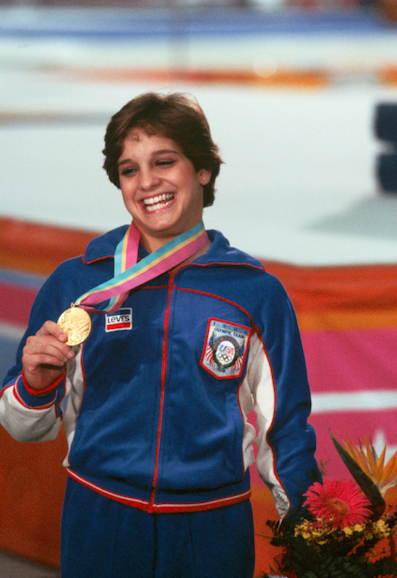 <p><em>Mary Lou Retton</em></p><p>How do I get an exact replica of this tracksuit for my everyday wear?</p>