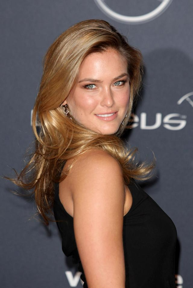 LONDON, ENGLAND - FEBRUARY 06: Bar Rafaeli arrives at the Laureus World Sports Awards 2012 at the Queen Elizabeth Hall on February 6, 2012 in London, England. (Photo by Tim Whitby/Getty Images)