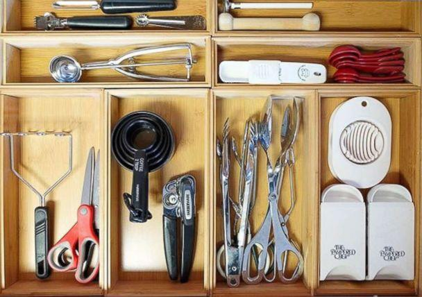 PHOTO: The Home Edit founders recommend organizing a home by starting with a drawer. (@thehomeedit)