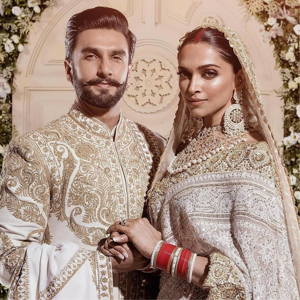 <p>The outfits were what took our breath away as they looked so royal in those traditional white and golden attires </p>