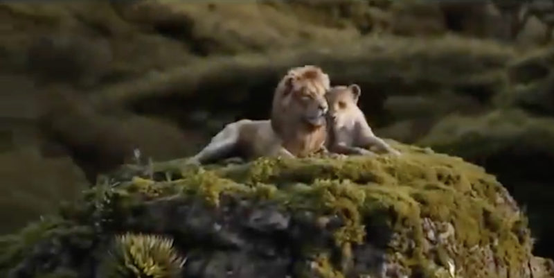 Beyonce sings in new Lion King clip and we're crying