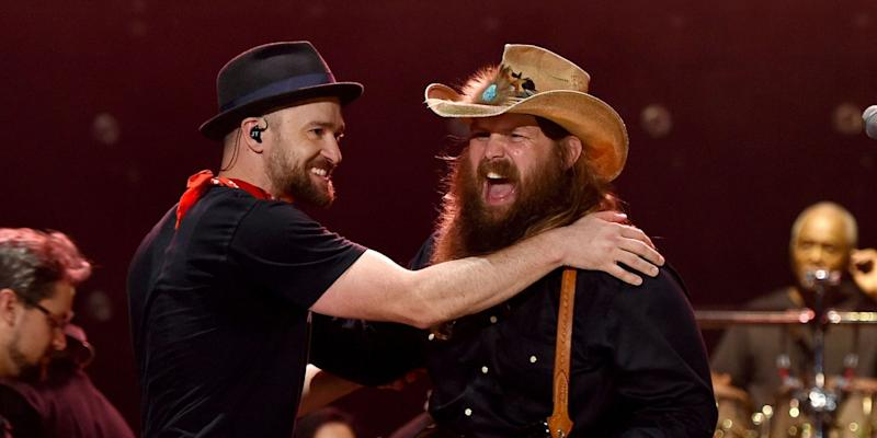 How did chris stapleton and justin timberlake meet photo credit getty m4hsunfo