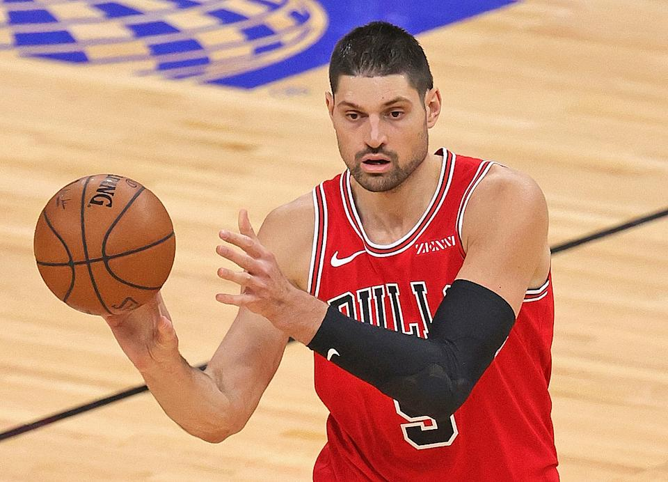 The Bulls have dropped from 10th to 11th place since acquiring Nikola Vucevic. (Jonathan Daniel/Getty Images)