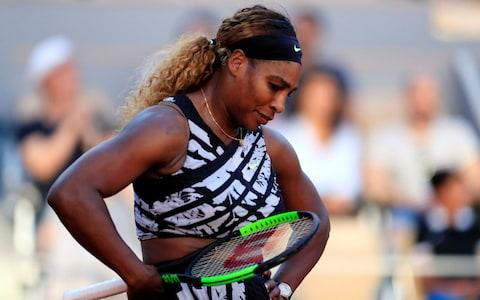 <span>Williams has only completed 11 matches on the tour all season because of a troublesome left knee</span> <span>Credit: REUTERS </span>