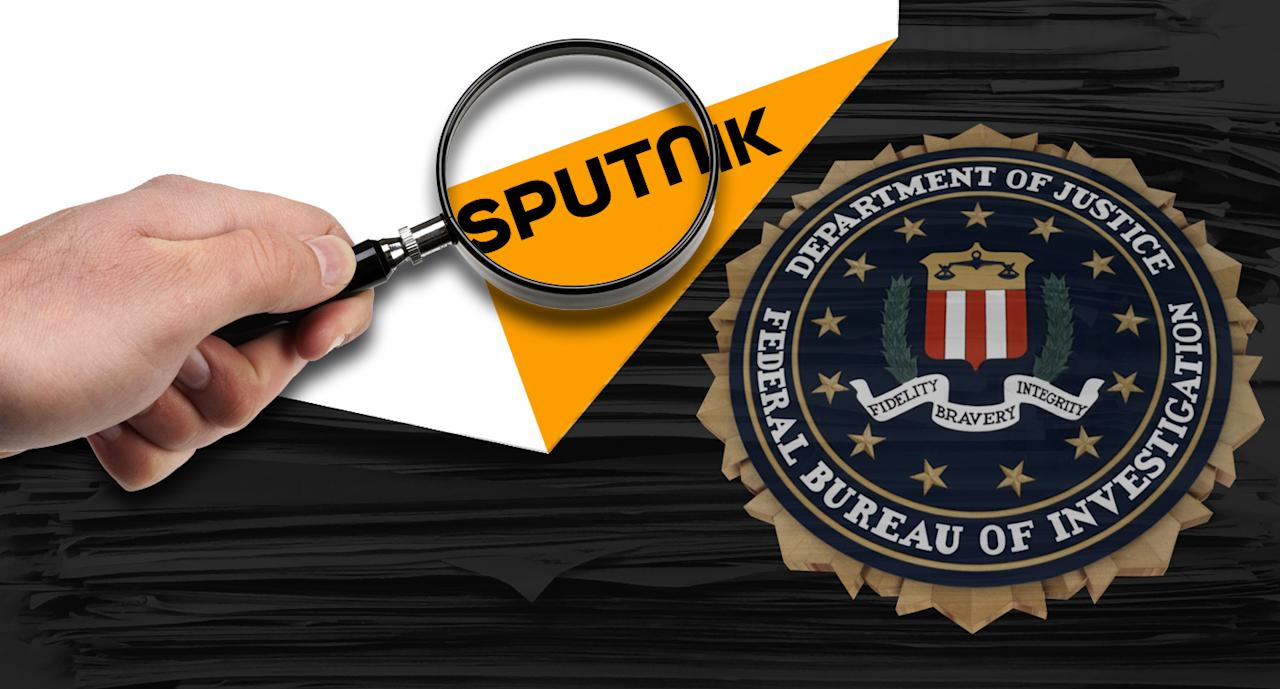 Sputnik News agency being investigated by FBI