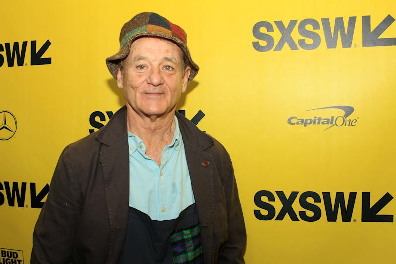 Bill Murray slept through his own lifetime achievement award press conference