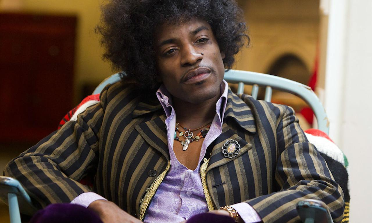 "<p>The estate of Jimi Hendrix refused permission for his music to be used in the film, starring Andre 3000 as the late artist. Instead, music supervisor Danny Bramson secured the rights to music that Hendrix covered including Chip Taylor's ""Wild Things"" and The Beatles' ""Sgt Pepper's Lonely Hearts Club."" </p>"