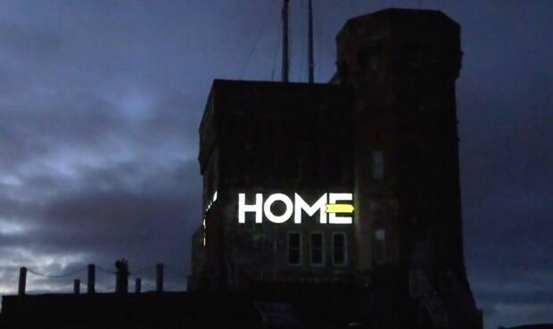 The provincial government lit up Cabot Tower Tuesday night to kick off its Stay Home Year 2020 campaign.