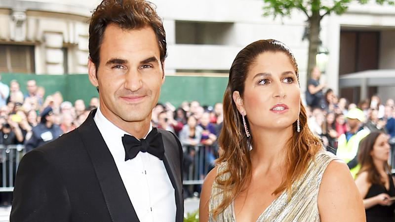 Roger Federer and wife Mirka, pictured here at the Met Gala in 2017.
