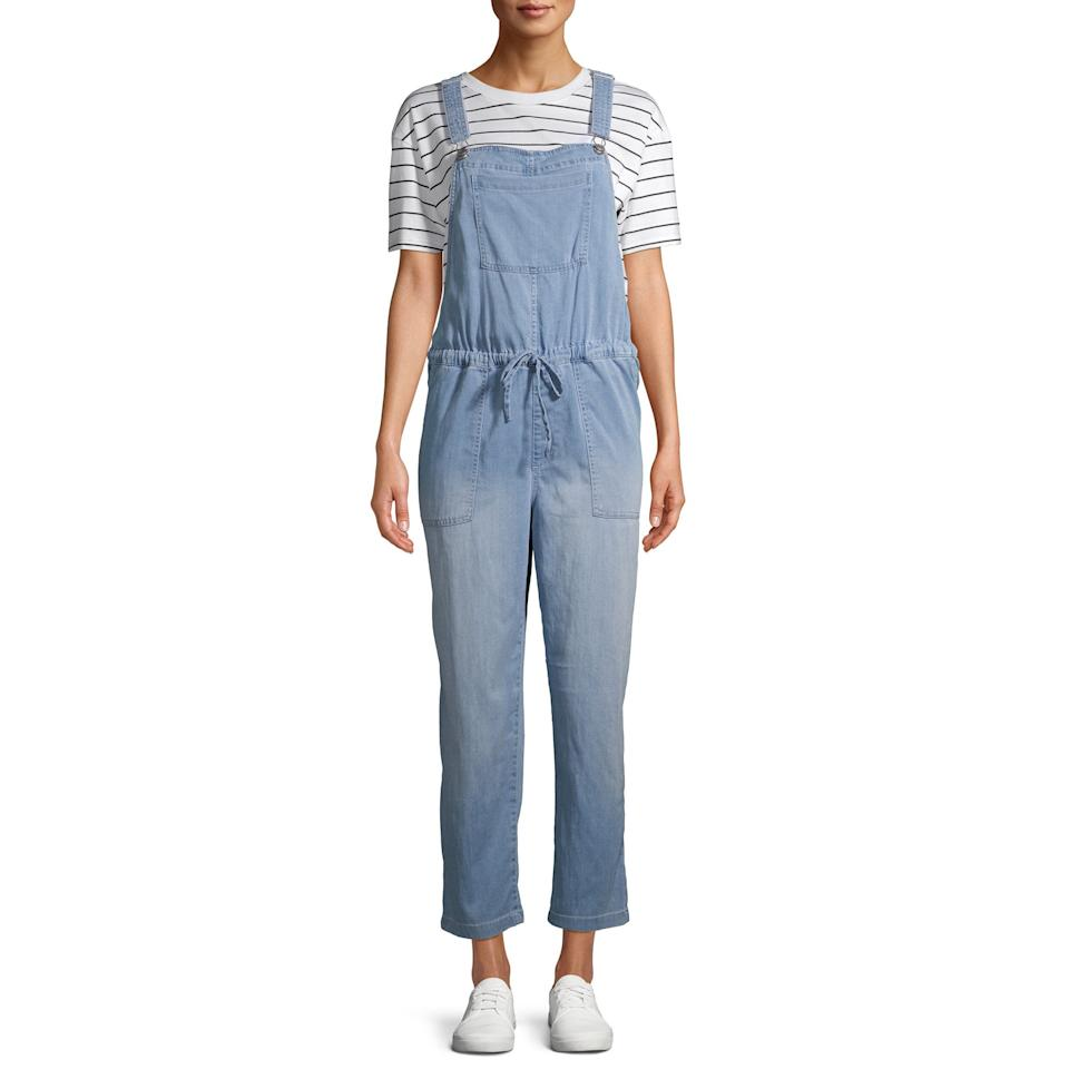 """<br><br><strong>Time and Tru</strong> Soft Overalls, $, available at <a href=""""https://go.skimresources.com/?id=30283X879131&url=https%3A%2F%2Fwww.walmart.com%2Fip%2FTime-and-Tru-Women-s-Soft-Overalls%2F757458274"""" rel=""""nofollow noopener"""" target=""""_blank"""" data-ylk=""""slk:Walmart"""" class=""""link rapid-noclick-resp"""">Walmart</a>"""