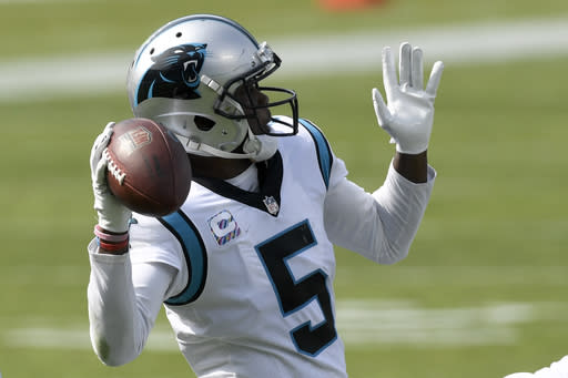 Bridgewater's patience, accuracy paying off in Carolina