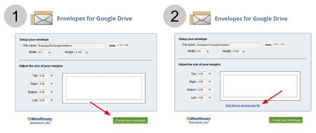 Pro tip how to create an envelope in google docs figure c pronofoot35fo Choice Image