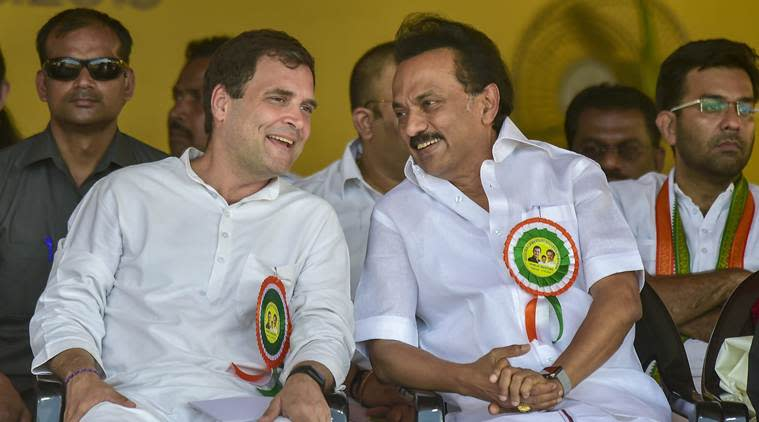 Elections 2019: DMK to contest 20 seats, gives Congress 9, other allies 10 in Tamil Nadu