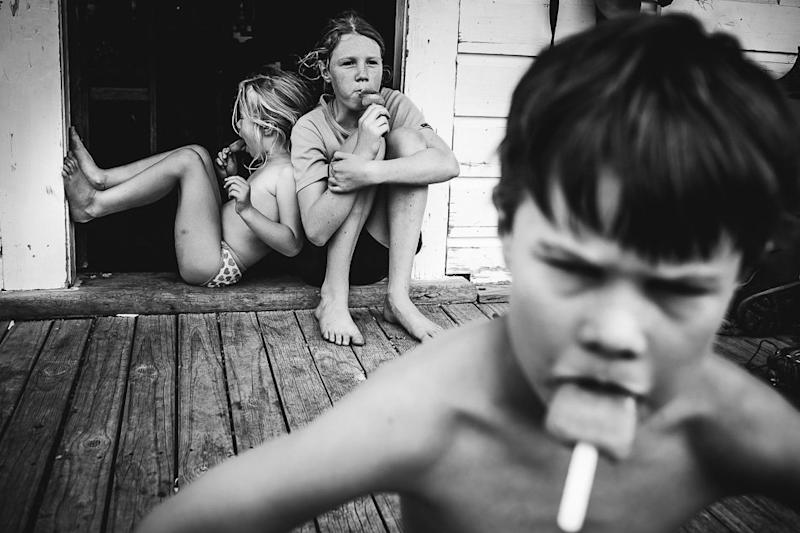 Boon hopes her kids look back on their childhood with a sense of nostalgia. (Niki Boon Photography)