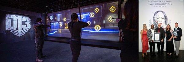 The Hunger Games: The Exhibition awarded Guinness World Records(R) title for Largest Interactive Touchscreen Display