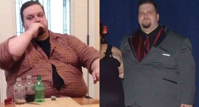 Mark Mayer was 470 pounds at his highest weight. His mother dying from a heart attack was his wake-up call. (Photo: Mark Mayer)