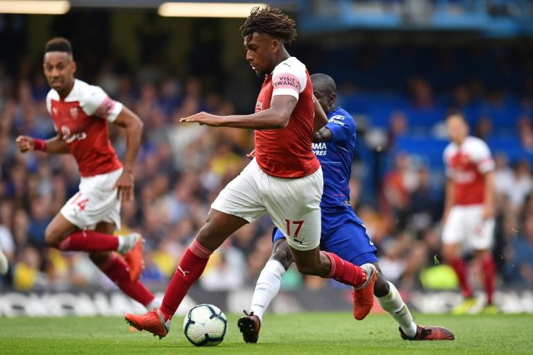 Alex Iwobi impressed but his goal was not enough to prevent Arsenal losing their second game in a row