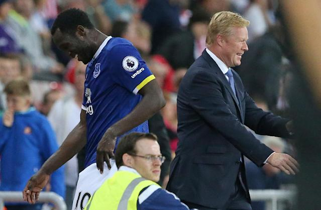 romelu lukaku and Ronald Koeman