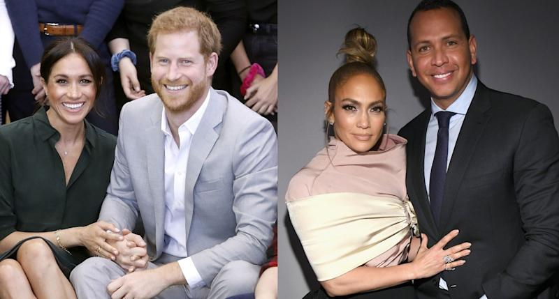 Meghan Markle and Prince Harry Had Dinner With Jennifer Lopez and Alex Rodriguez in Miami