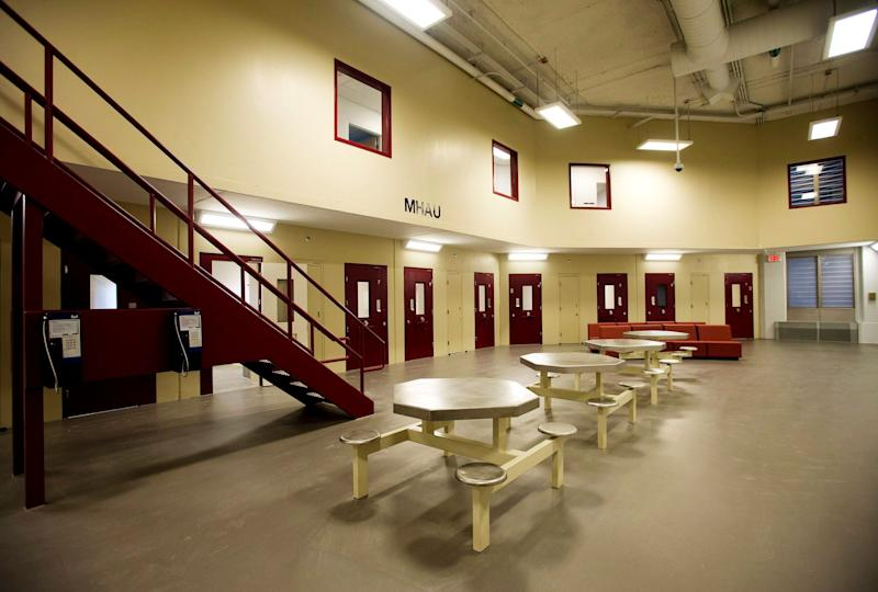 Inside the Toronto South Detention Centre. (Photo: The Canadian Press)