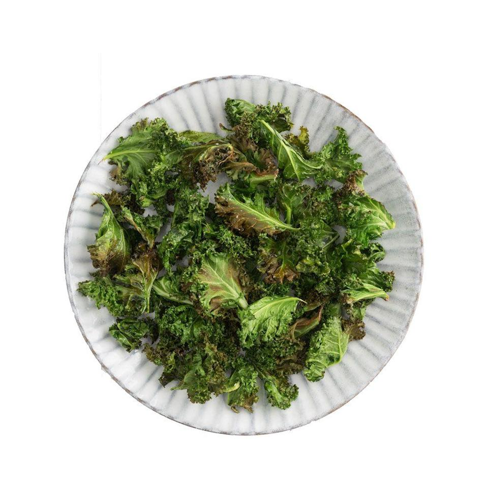 <p>Everything in 2012 was kale—chips, smoothies, salads, and more. Crunchy kale chips, in particular, felt like a healthy version of potato chips that could be topped with anything from a dash of salt to fun spices like ranch.</p>