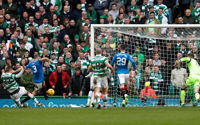 Clint Hill - Celtic manager Brendan Rodgers warns officials against making blunders in Scottish Cup semi-final with Rangers at Hampden Park - Credit: Reuters