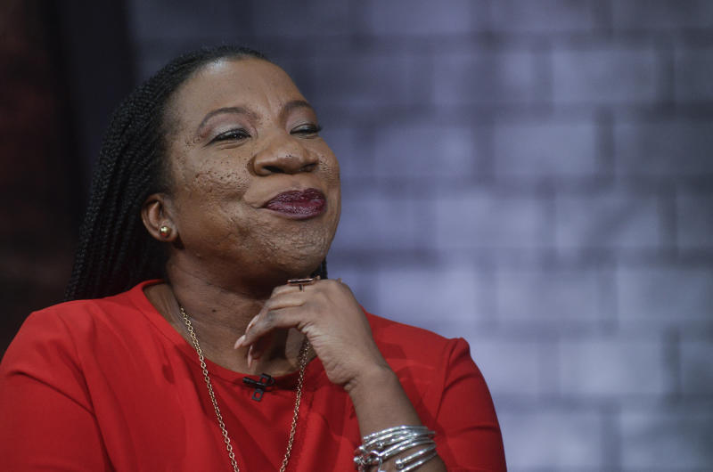Me Too founder Tarana Burke thinks E! News shouldn't have Ryan Seacrest as part of its Oscars coverage. (Kris Connor via Getty Images)