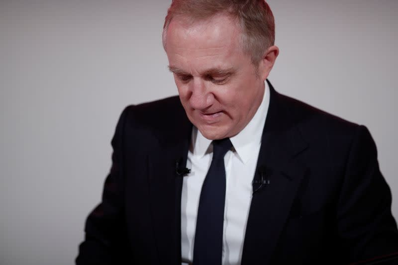 Kering luxury goods billionaire Pinault agrees to pay cut