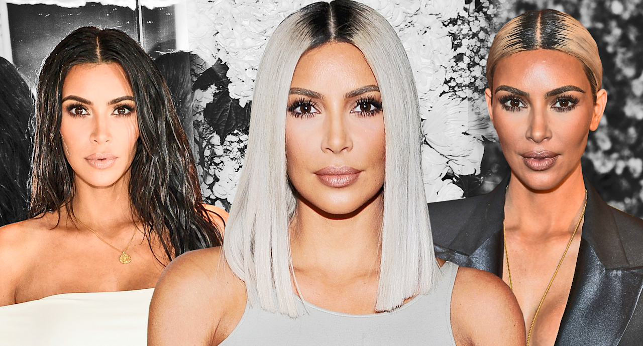 <p>Kim K. was a woman of many hair looks this year. (photo: Quinn Lemmers for Yahoo Lifestyle/Getty) </p>