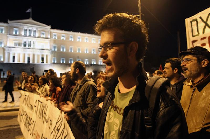 Greek bailout program review hits snag